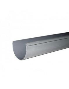 Canalón PVC gris