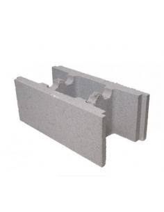 Bloque muro hormigón 25x20x50