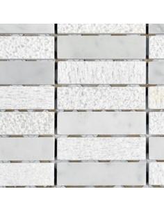 Enmallado 021 White Carrara